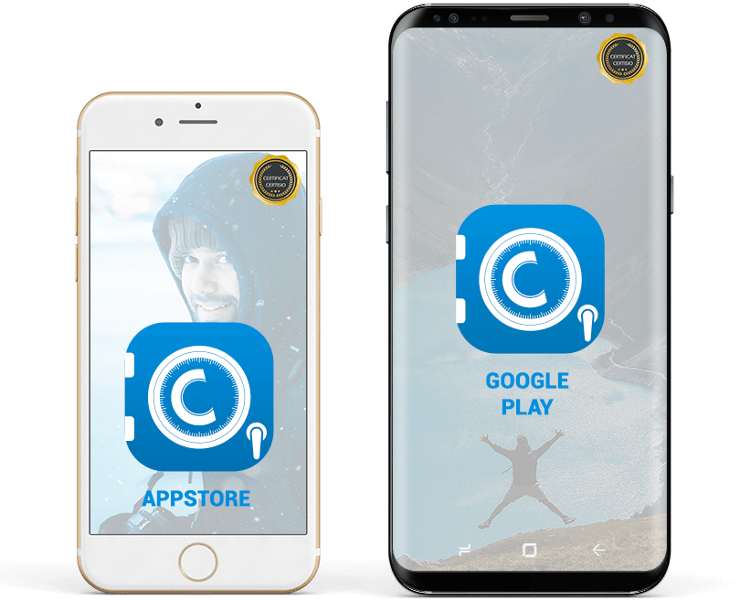 Certisio available on Appstore and google play